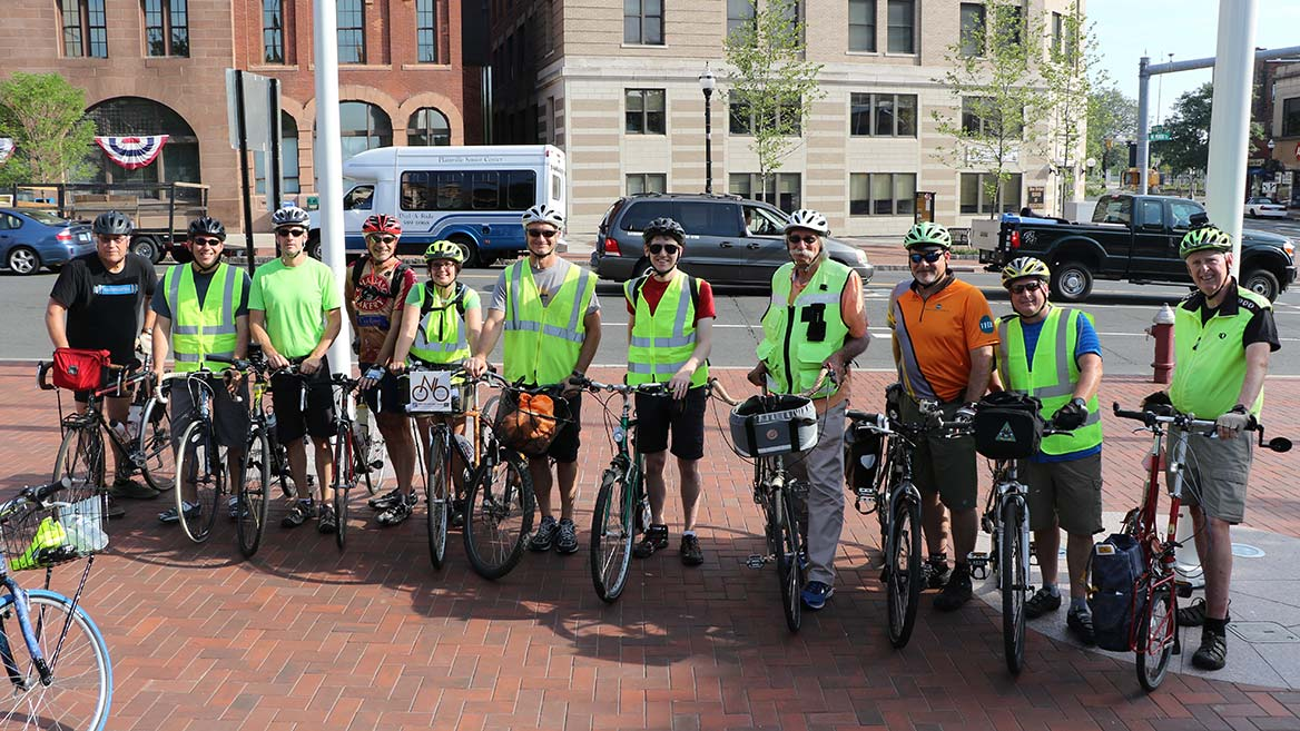 Mobility Bike Tour Group