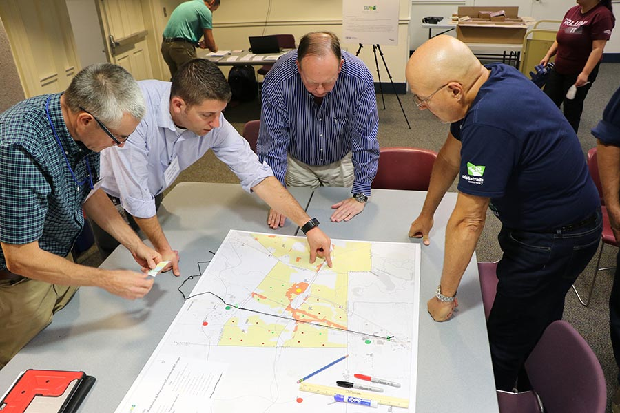 Steering Committee and Technical Team Star Analysis Mapping Exercise